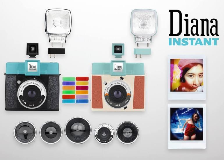 「完璧な写真」にさよなら!世界で最もアナログなインスタントカメラDiana Instant Sq