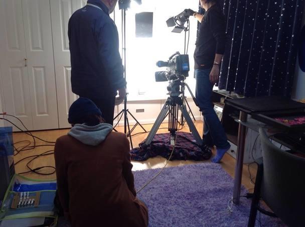 2015年めざましテレビ取材