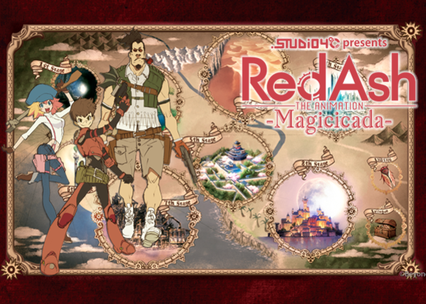 Red Ash -Magicicada- by STUDIO4℃