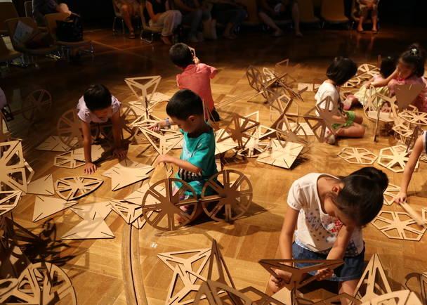 構造が学べる巨大知育玩具『KUMICA』を増やそう!来場者参加型イベント『アソビバ』での遊びをもっと豊かに!
