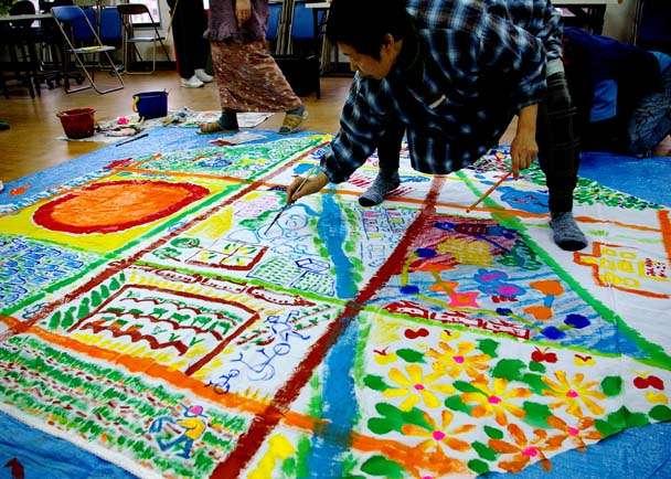 ヨコトリ出場「釜ヶ崎芸術大学」開校と、おっちゃんたちの旅費を!