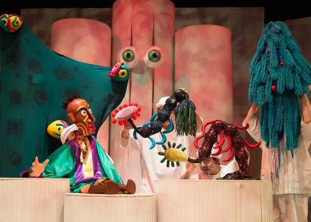 ろう者と聴者が共に創る現代人形劇 『デフ・パペットシアター・ひとみ』福島公演