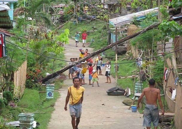 フィリピン レイテ島 台風被害 復興支援プロジェクト