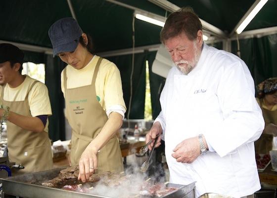 地球の未来を考え行動する!アースデイ東京2013 ニコルズフォレストキッチン