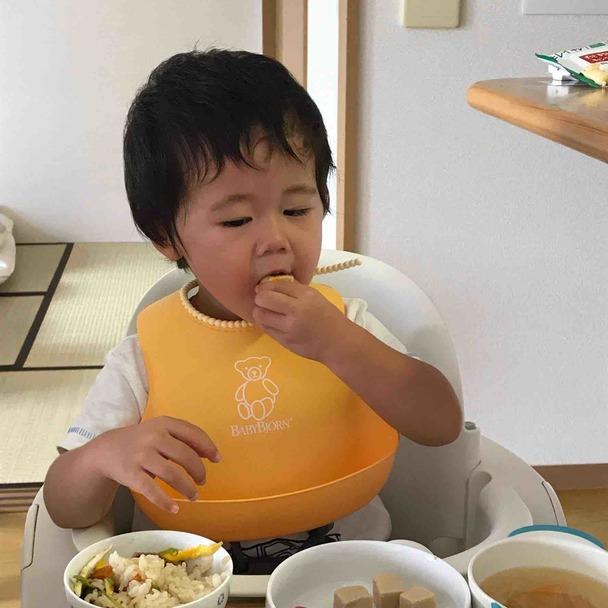 2歳の息子も高野豆腐がお気に入りです。