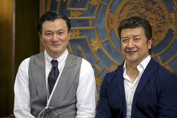 (左)監修の渡辺新氏 (右)鈴木勉監督