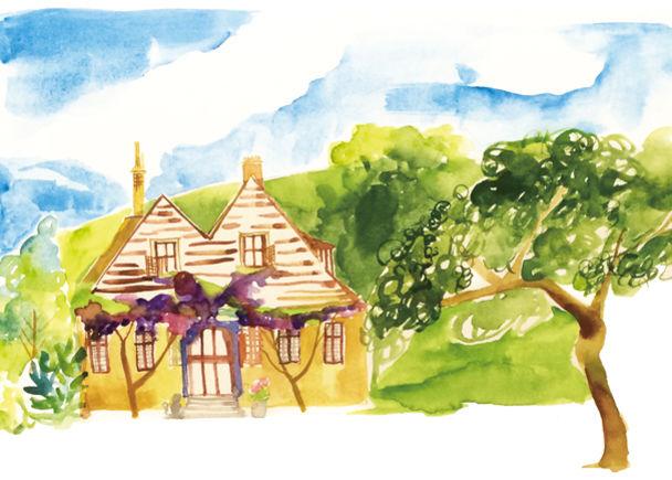 日本の「ちいさいおうち」で暮らした家族の物語を、絵本にして紡ぎたい。