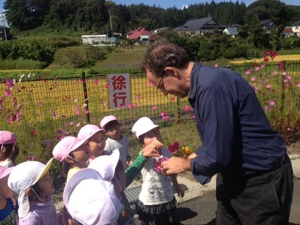 「4年たった今、あなたの何が変わりましたか?」~日本を愛し 被災地の子ども達と共に歩むアーティストのワークショップ