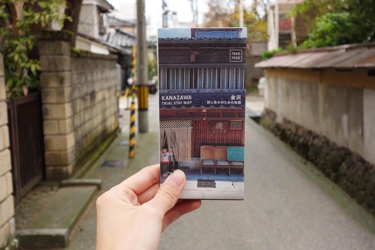 KANAZAWA TRIAL STAY MAP