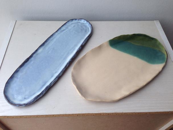 陶芸コース「サンマ皿をつくる」