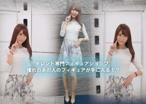 有名アイドル・グラビアアイドルが遂に3Dフィギュア化!日本初の有名人フィギュアの専門ショップをオープンさせたい!!