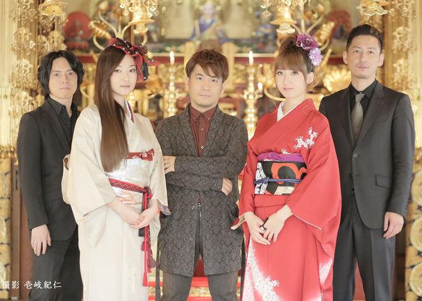 日本の伝統芸能である津軽三味線と島唄が融合したジャズバンド黒船の2ndアルバムを制作します