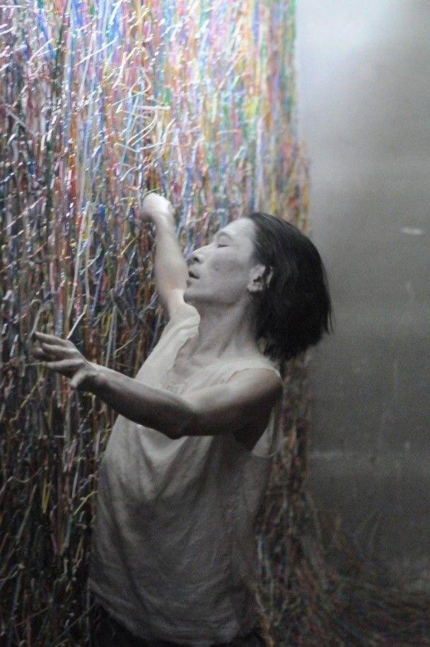 越後妻有アートトリエンナーレ2012 瀧澤とのコラボ