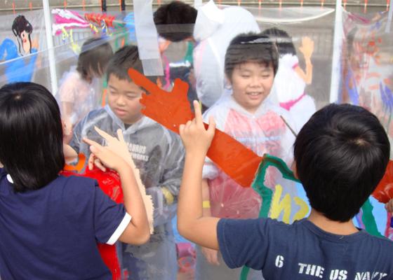 NEVER LAND PROJECT アーティストによる福島の子どものためのアートワークショップツア