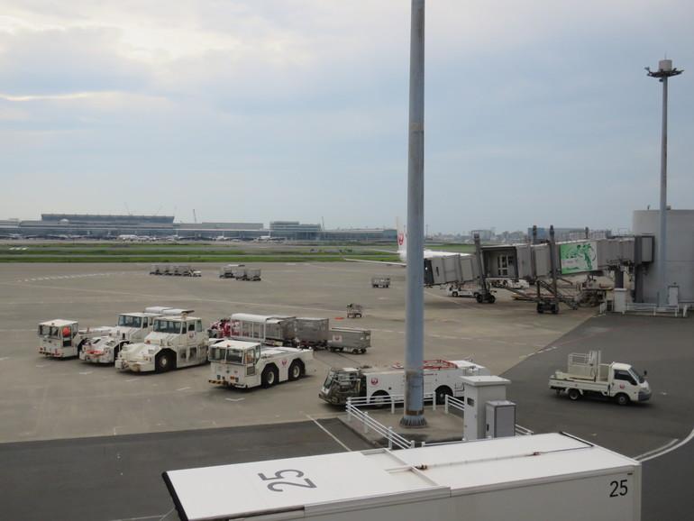 羽田空港第1ターミナルより
