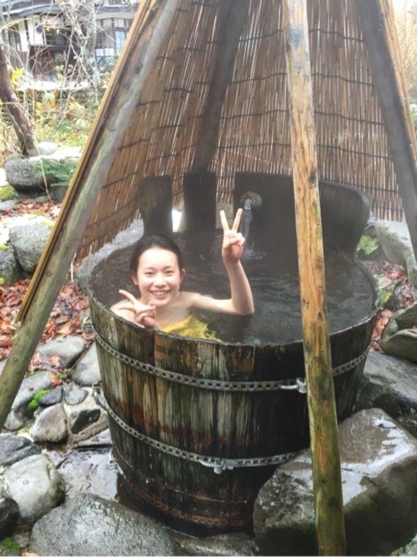 記念すべき、1000湯目!@青荷温泉ランプの宿