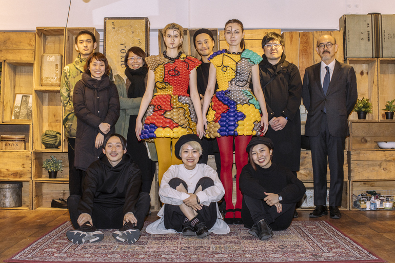 "Pecha Kucha Night Tokyo / FLUSH FASHION SHOW at Hiroo ""Picasso"""