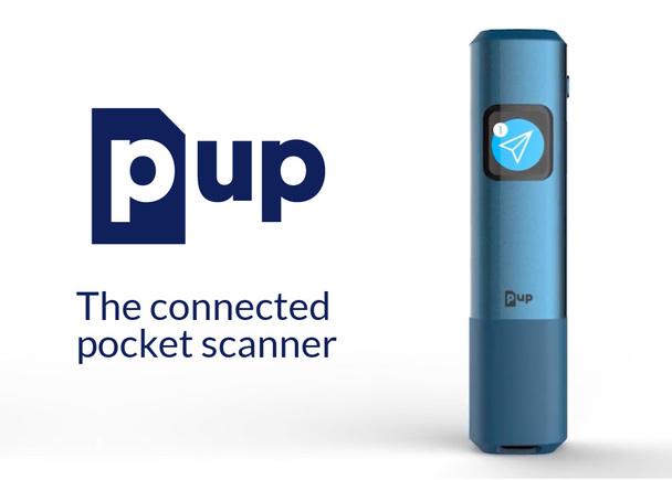 フランス発、世界最速ポケットサイズのスマートハンディスキャナー【PUP Scan】 by 7Next