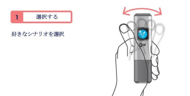 PUP scan 使い方