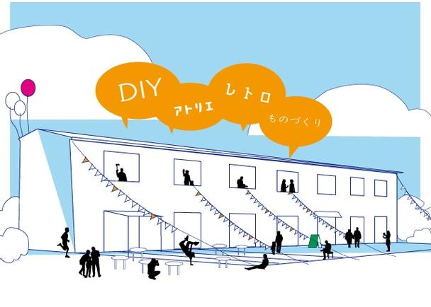松戸・八柱を、クリエイターと共に面白い動きが生まれる街にしたい。レトロ社宅をリノベして、地域拠点をつくるプロジェクト