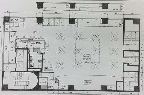 店内設計図