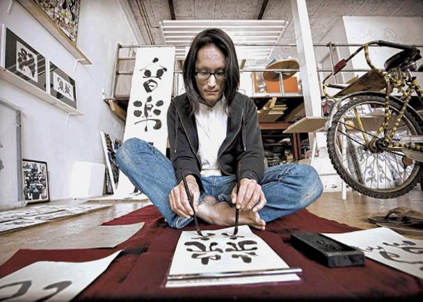 プロジェクト『両手で書く、描く』をドイツから島根へ