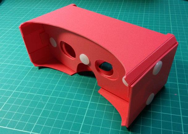 タオバイザー:Google cardboard互換3Dのぞきメガネを作ります
