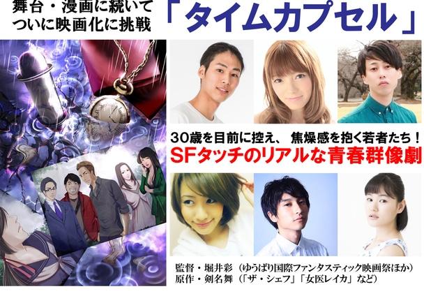 東京の片隅で夢を追い続ける若者たちの苦闘を、SFタッチで描く青春群像劇「タイムカプセル」。製作支援にご協力ください!