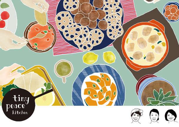 都会で忙しく働く人に「家庭料理」を届けるカフェ、tiny peace kitchenを永田町にオープン!
