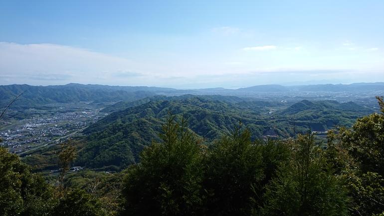 仙山千光寺からの眺め