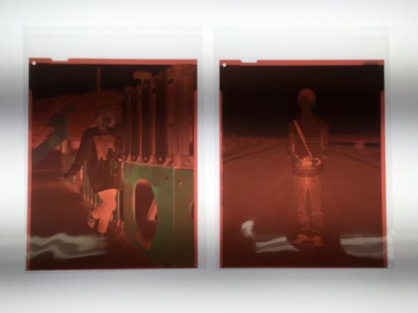 ネガフィルム(4×5)