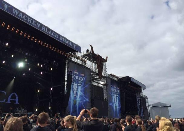 ドイツ最大級のフェス、Wacken Open Airへ参加する2016年度日本代表バンドの渡航費を支援するプロジェクト