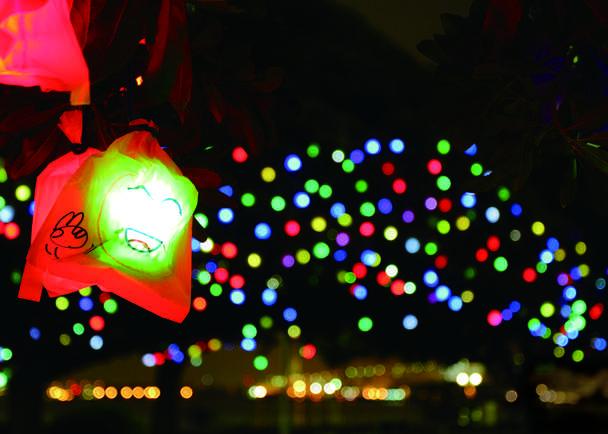 250人の子どもが創るイルミネーション「ひかりの実」で、横浜の夜を優しく彩りたい!