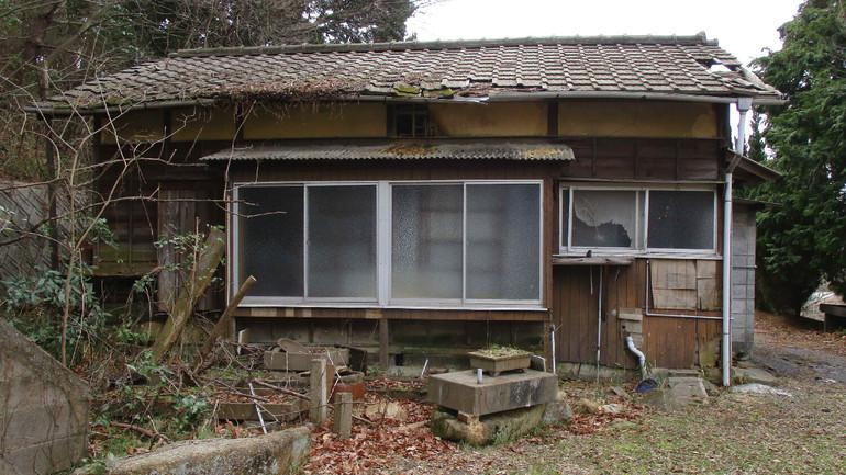 十坪住宅「徳島路太利」の外観