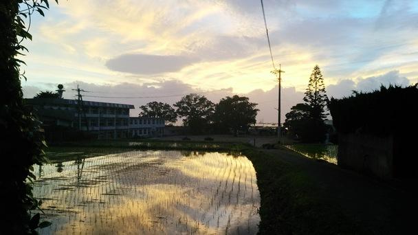 朝の風景(ロケハン中)